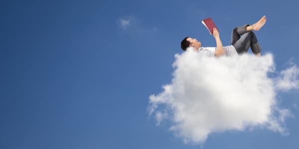 Met je hoofd in de wolken (en een béétje bij je studie)